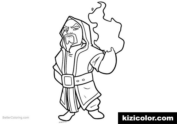 clash royale line art kizi free coloring pages for
