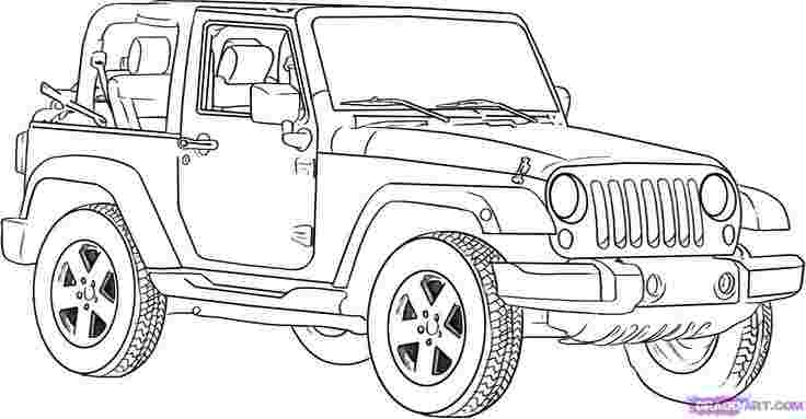 classic jeep coloring pages classic car netart coloring