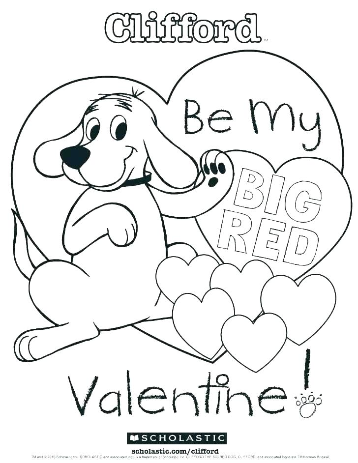 clifford coloring pages free to print desimazaclub