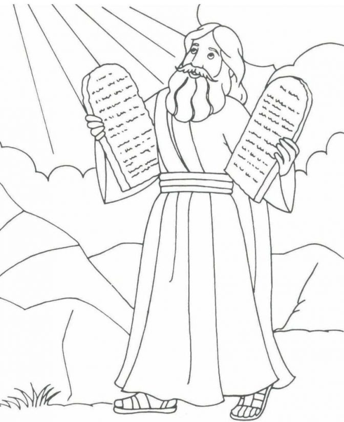 color pages coloring pages moses free ba page israels
