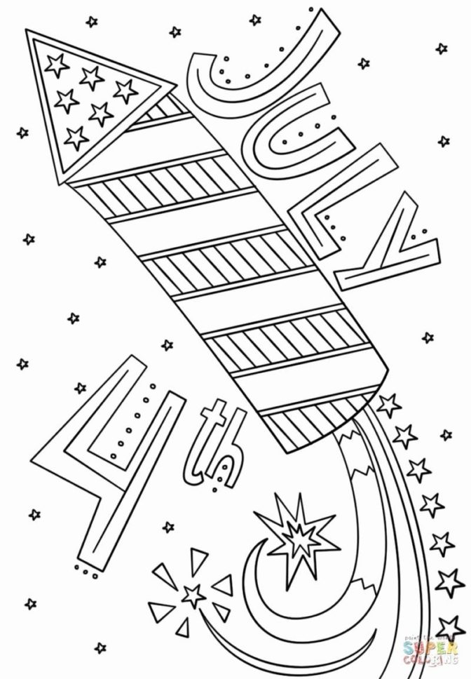 coloring book 31 excelent 4th of july coloring pages image