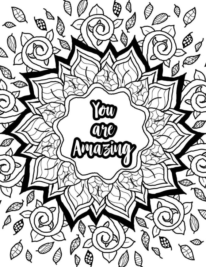 Awesome Coloring Pages Picture - Whitesbelfast