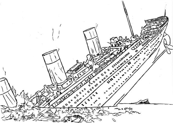 coloring book extraordinary titanic coloring book image