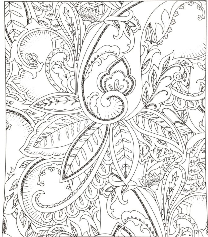 coloring book flower coloring pages for adults flower