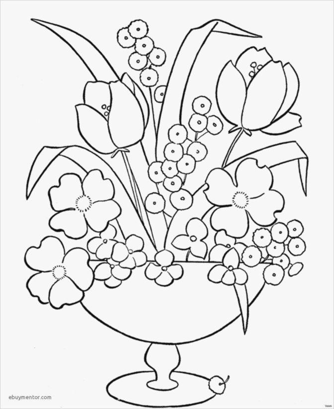 coloring book incredible spring flowers coloring pages