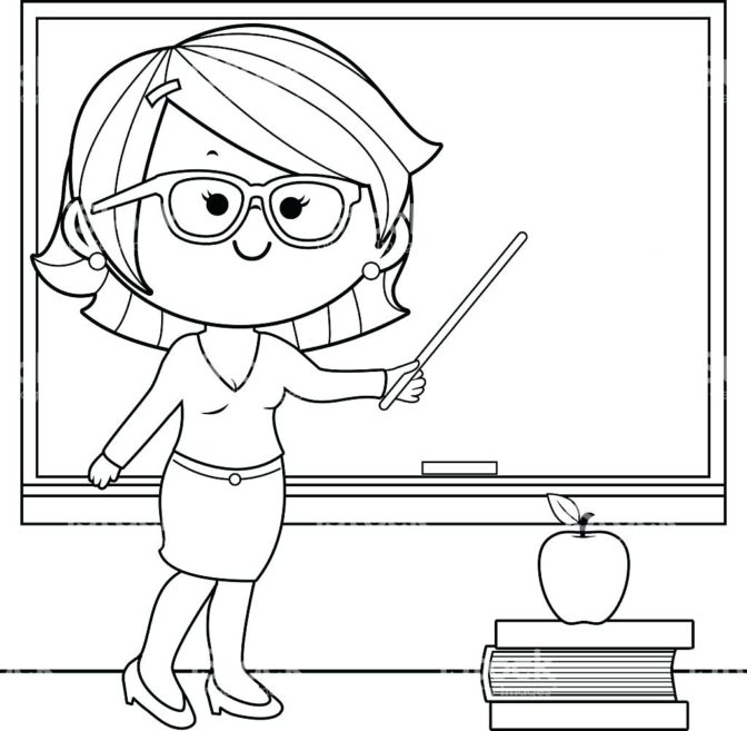 coloring book teacher coloring pages happy birthday