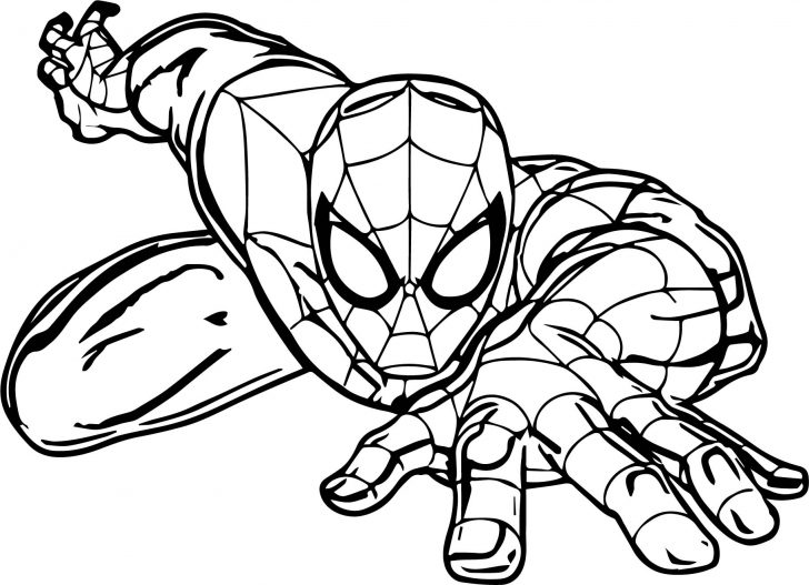 coloring books spiderman coloring pages printable