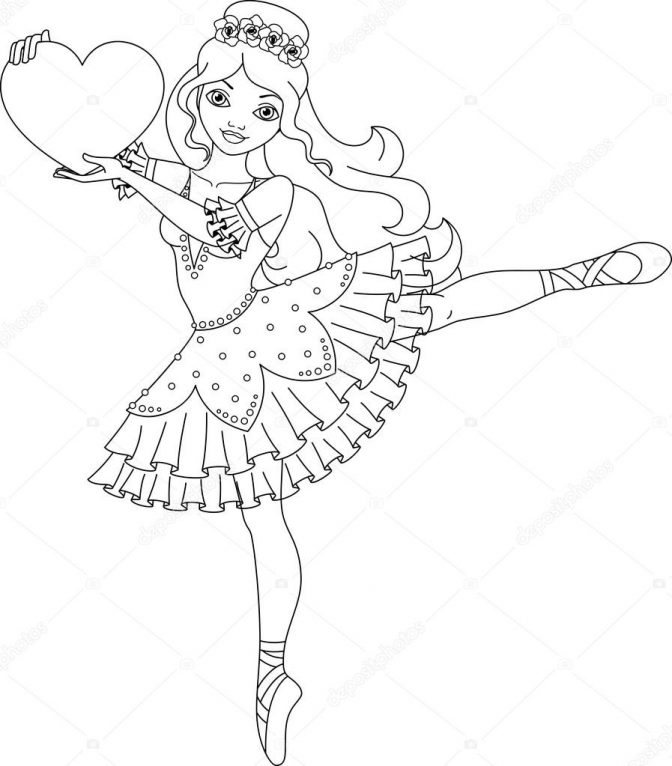 coloring pages 48 ballerina coloring pages photo ideas