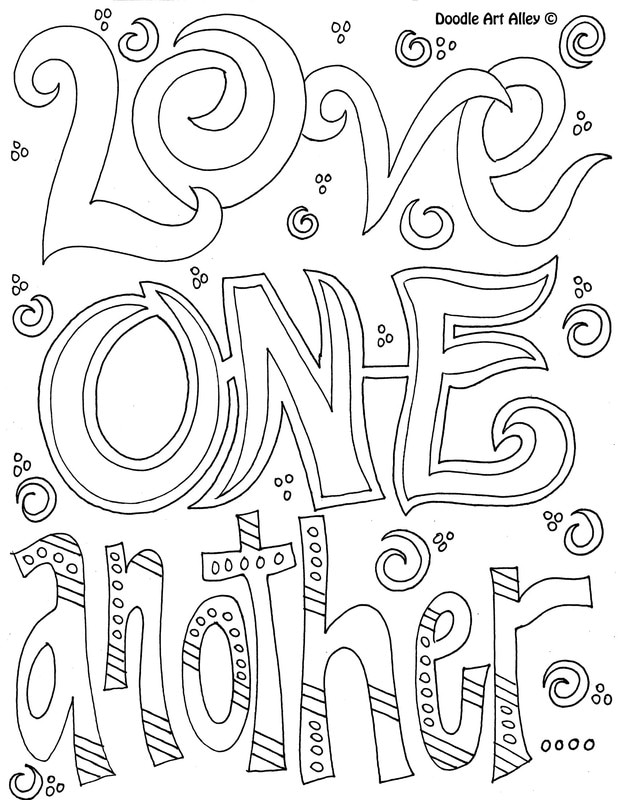 coloring pages about kindness