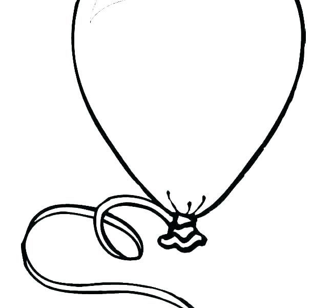 coloring pages balloons balloon colouring to print color