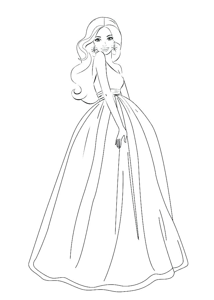 coloring pages barbie compassion21