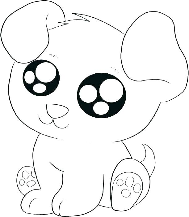 coloring pages cute dogs at getdrawings free for