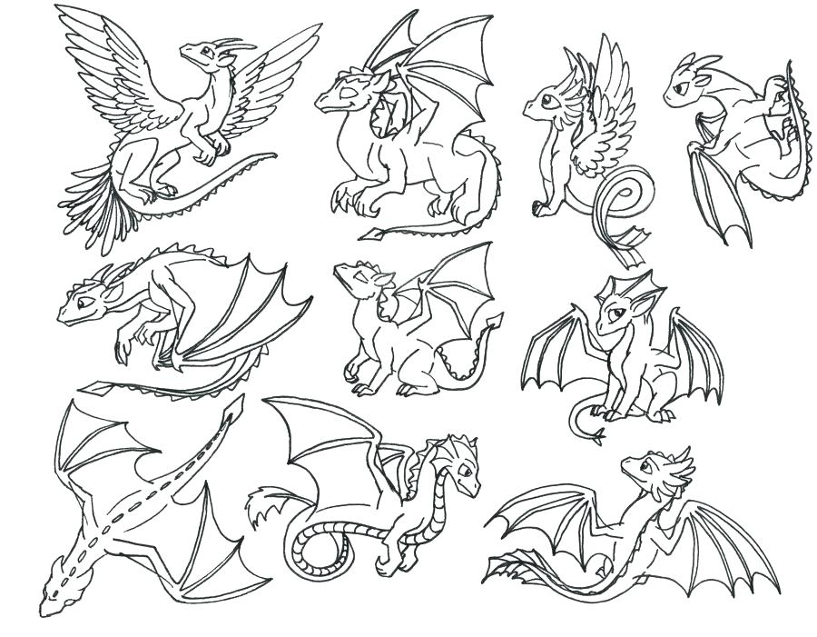 coloring pages cute dragons at getdrawings free for