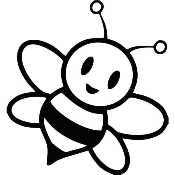 coloring pages draw a bee honey bee coloring page bee a