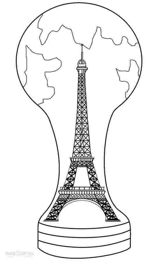 coloring pages eiffel tower paris eiffel tower cartoon fun