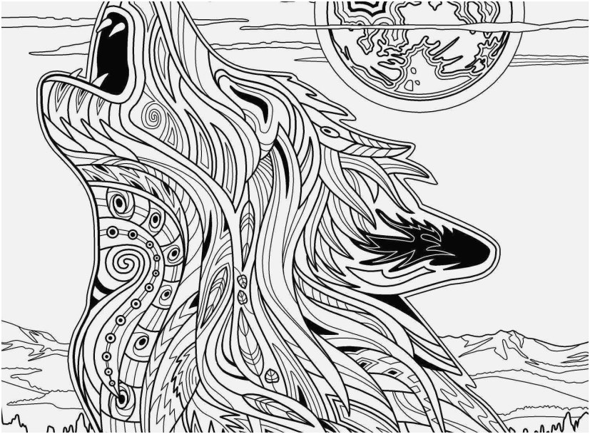 coloring pages for adults picture unique wolf coloring pages