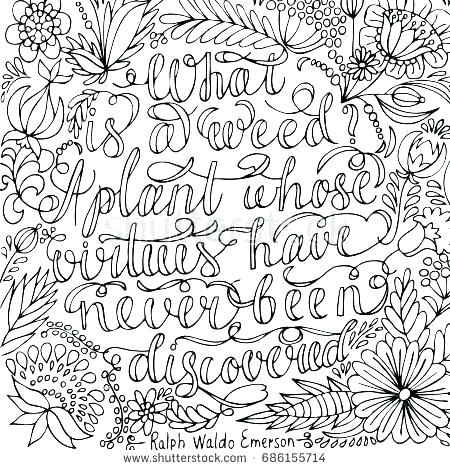 coloring pages for adults positive quotes pusat hobi