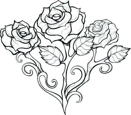 coloring pages for girls roses best free of and heart rose