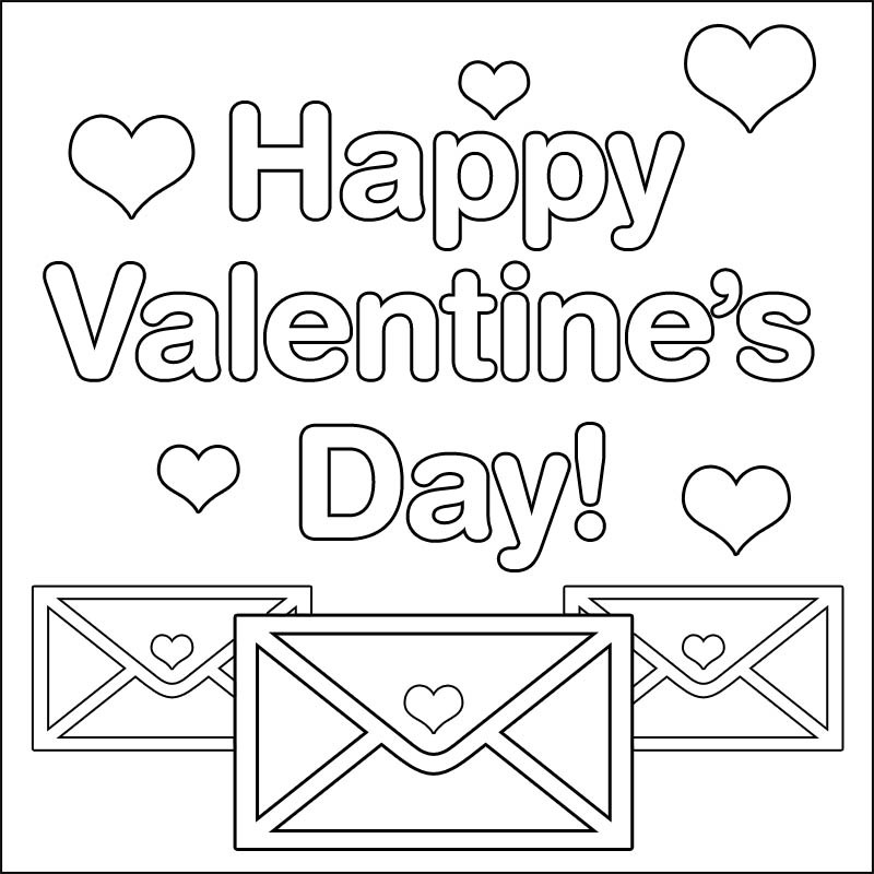 Valentine S Day Coloring Pages Pictures Whitesbelfast