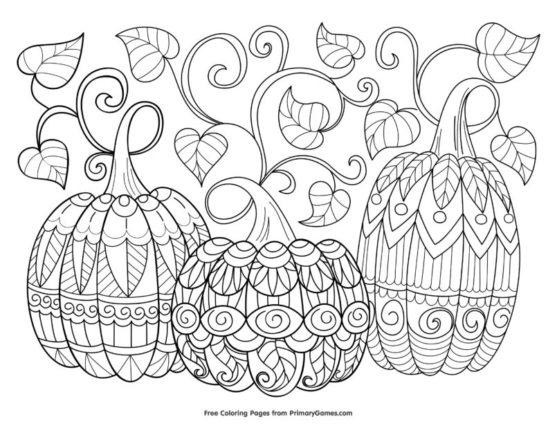 coloring pages free halloween coloring for adults kids