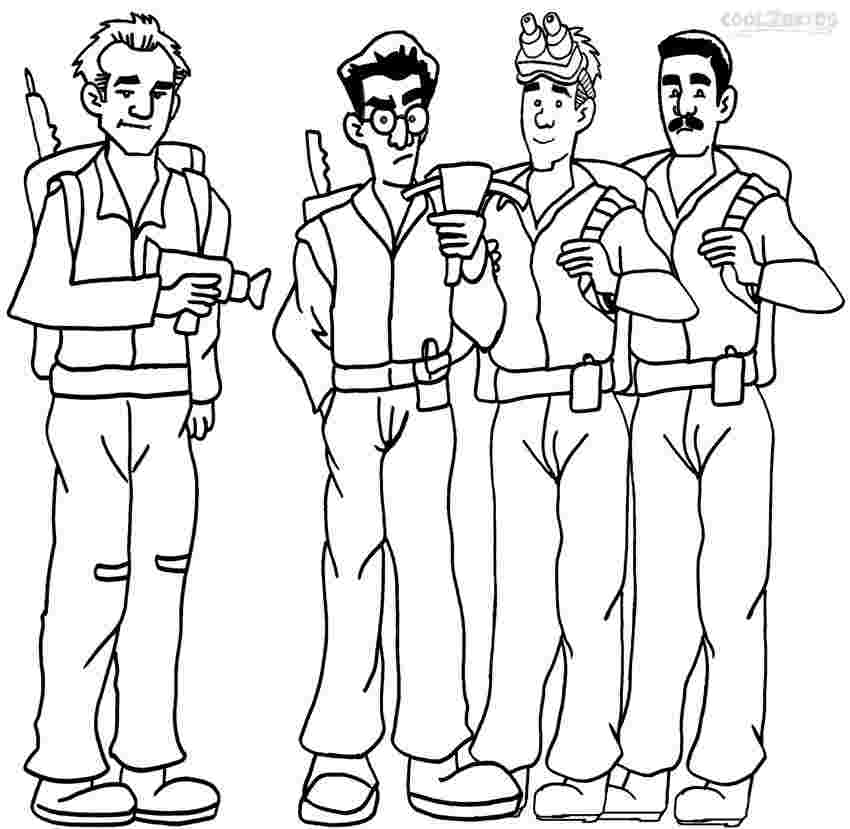 coloring pages ghost busters printable ghostbusters coloring