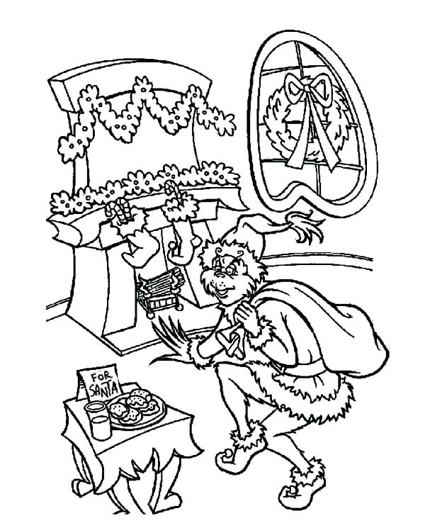 coloring pages grinch soidesign