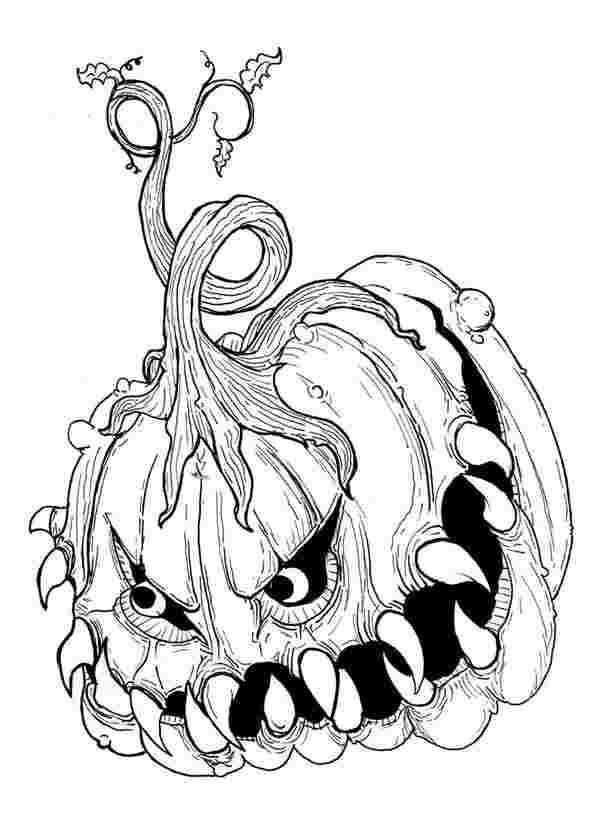 Scary Coloring Pages Picture - Whitesbelfast