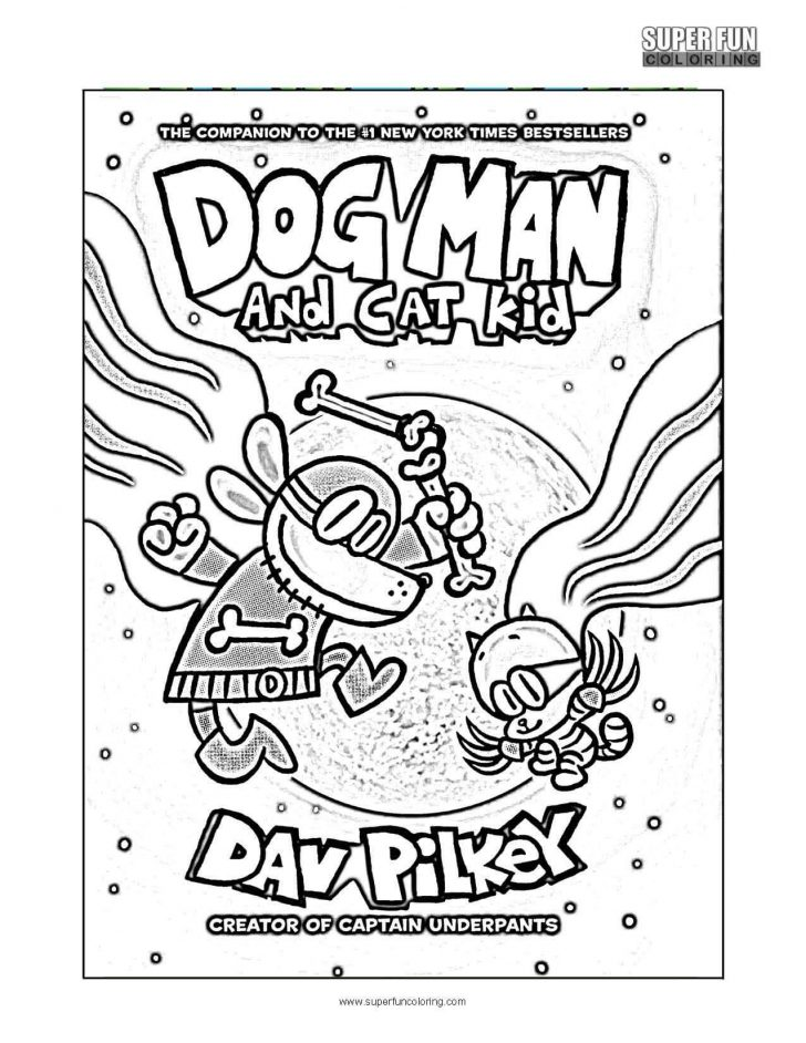 coloring pages ideas 98 dog man coloring pages photo