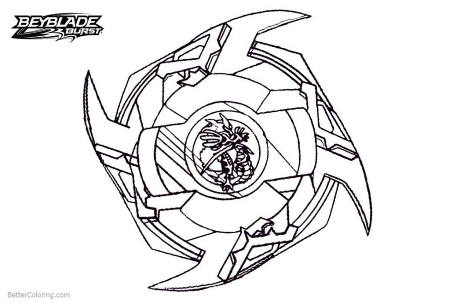 coloring pages ideas beyblade burst coloring pages