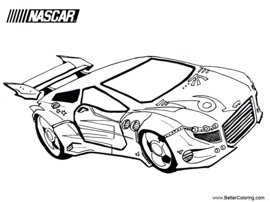coloring pages ideas coloringes ideas fantastic nascar