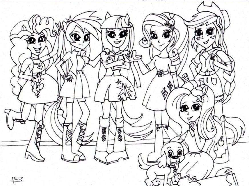 coloring pages ideas fantastic my little pony equestria