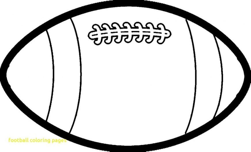 coloring pages ideas football coloring pages amazing