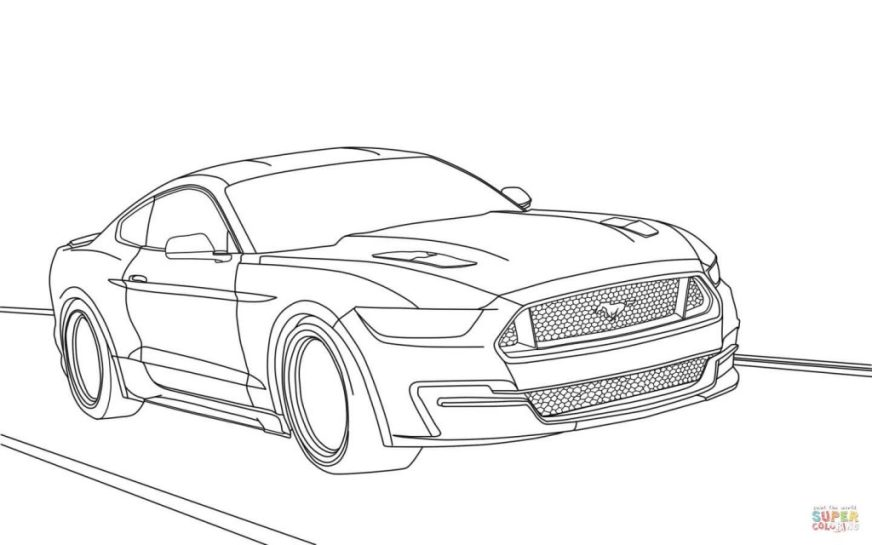 coloring pages ideas ford mustangoring page pages ideas