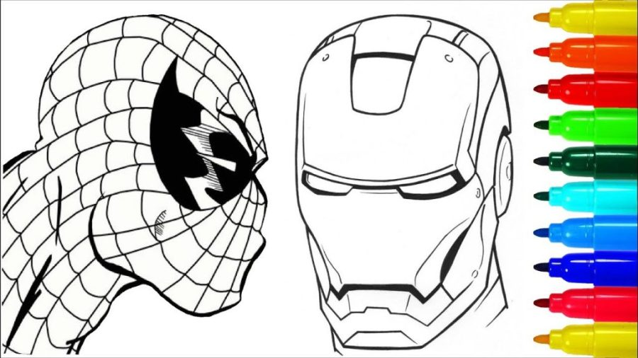 coloring pages ideas free black widow coloring pages easy