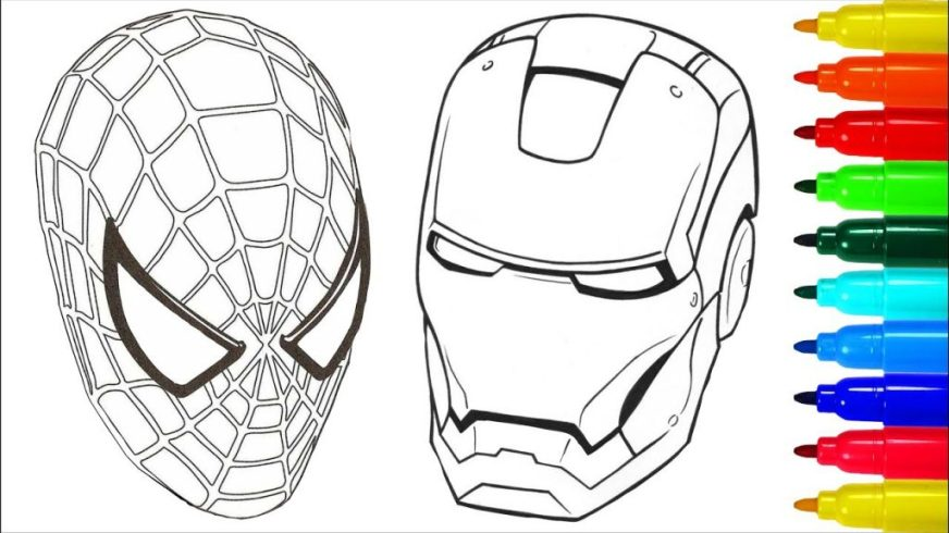 coloring pages ideas iron man coloring pages ideas captain