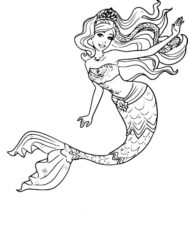 coloring pages ideas phenomenal free mermaid coloring