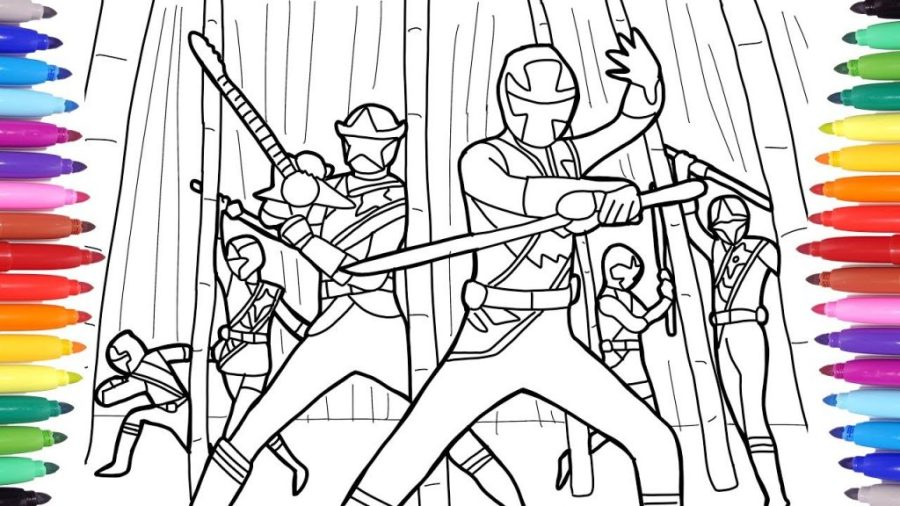 coloring pages ideas power rangers coloring book