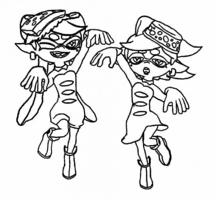 coloring pages ideas splatoon coloring pages splatoon