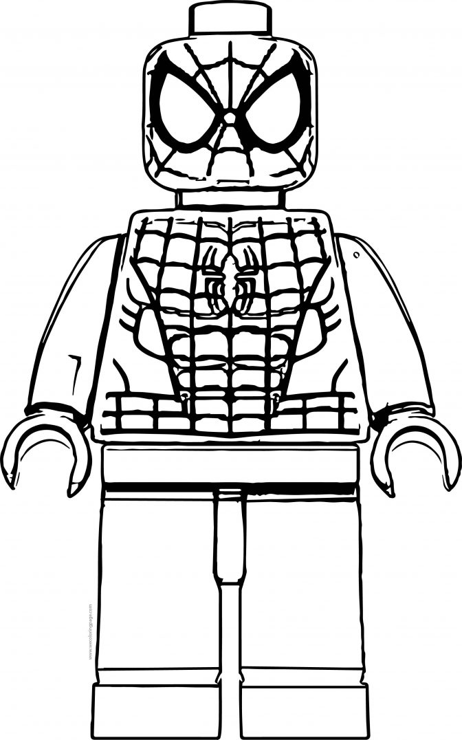 coloring pages lego spiderman coloring pages photo