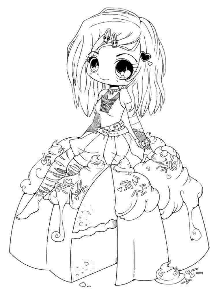 coloring pages manga chibi coloring pages to download and