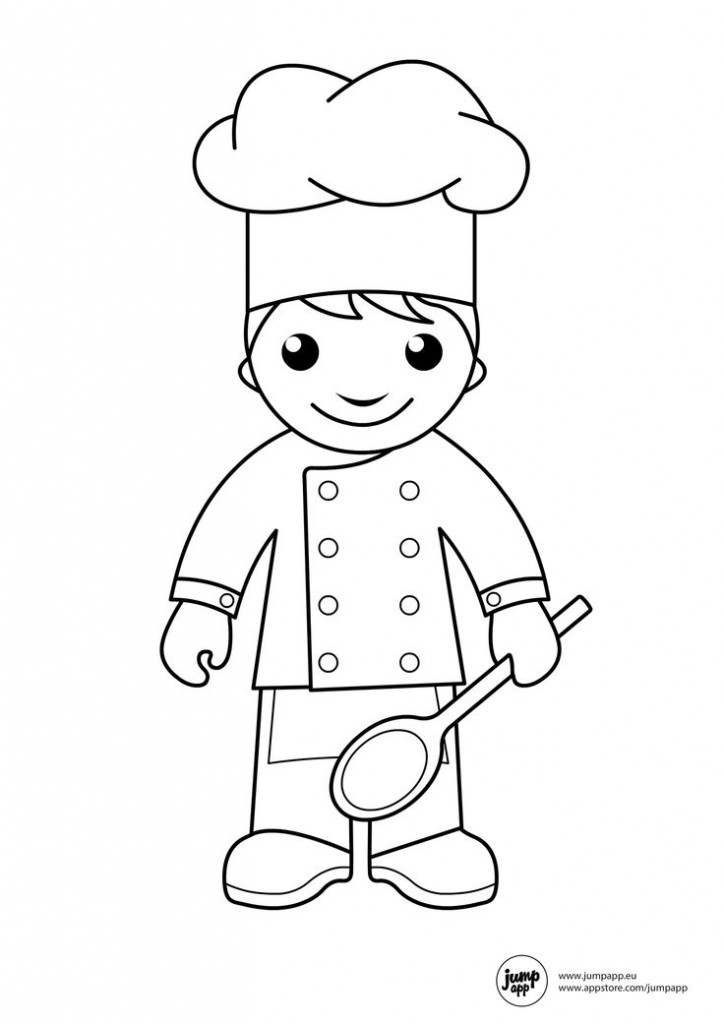 coloring pages of community helpers for preschool