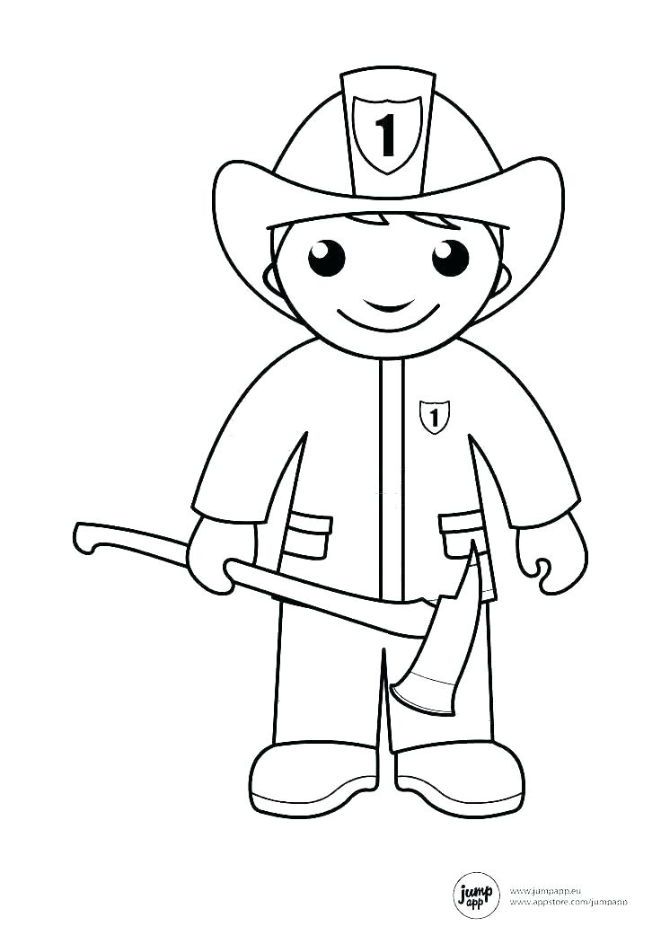 coloring pages of community helpers zeirclub