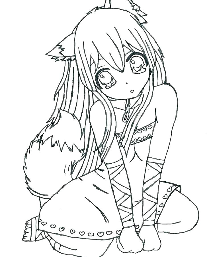coloring pages of cute girls at getdrawings free for