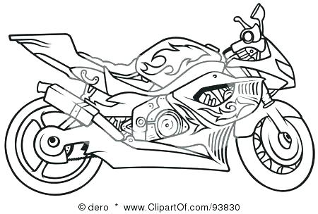 coloring pages of harley davidson motorcycles at getdrawings