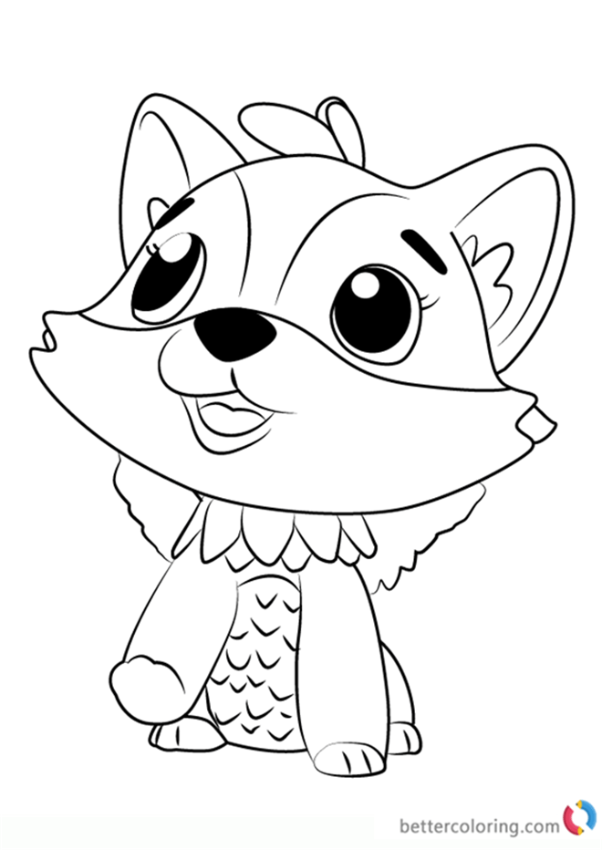 coloring pages of hatchimals printable robbellcoloring