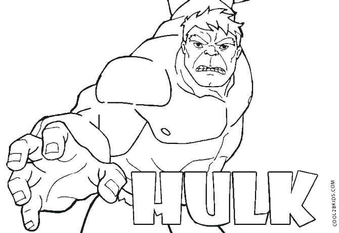 coloring pages of hulk