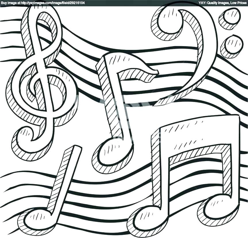 coloring pages of music at getdrawings free for