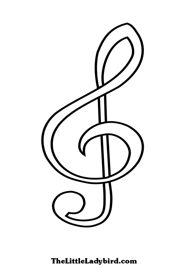 coloring pages of music notes picture car pictures music