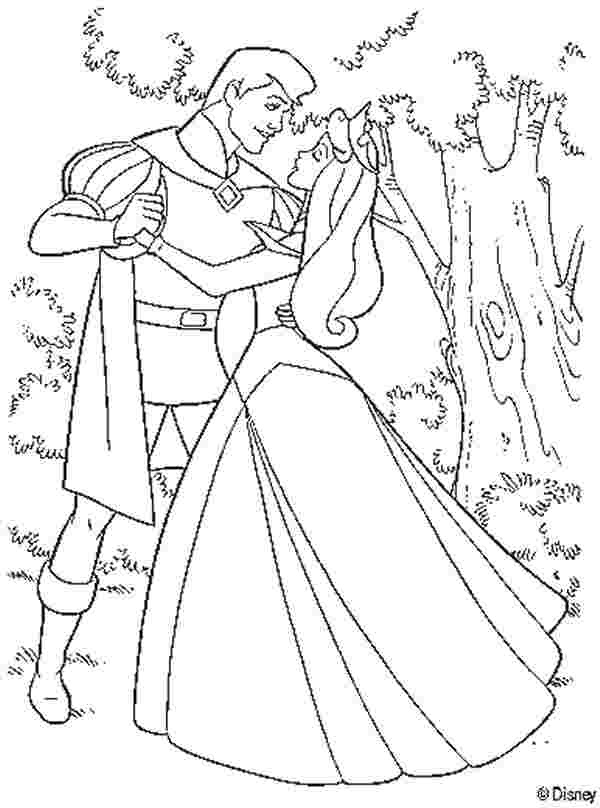 coloring pages of princess sleeping beauty huangfei