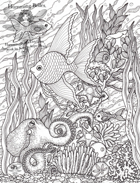 coloring pages of under the sea printable coloring for